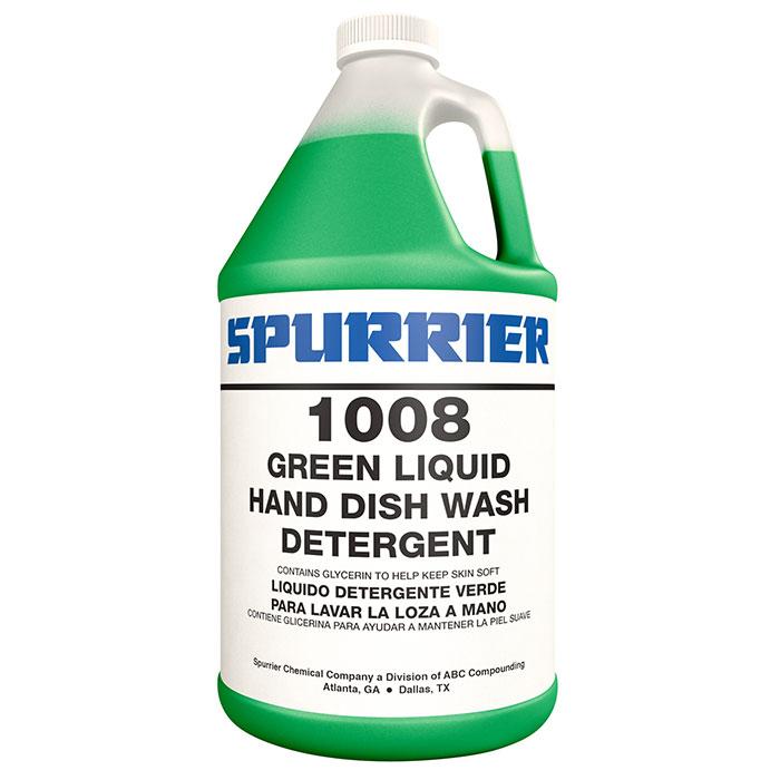 GREEN LIQUID HAND DISH